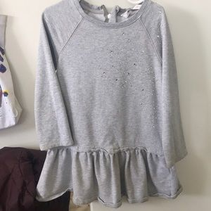 Girls sweatshirt Dress with Bling H&M